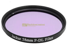 58mm. filtro di conversione F-DL Jackar