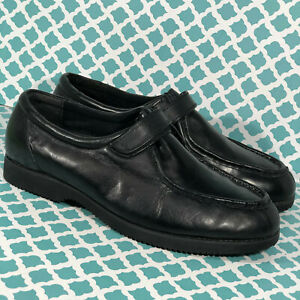 Mens Chukka Work Shoes Old Vutex Fine Brand Comfortable Black Size 11.5 M
