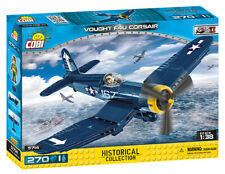 BRICKS COBI 5714 Vought F4U Corsair PLANE SMALL ARMY ELEMENT 270 WW2