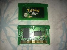 Nintendo Gameboy Advance - POKEMON LEAFGREEN - PAL - (GBA SP) 100% Genuine