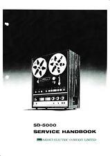 Service Manual-Instructions pour SANSUI sd-5000