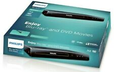 Philips BDP1502 Blu-Ray Disc / DVD Player with DVD Video Upscaling To HD - NEW