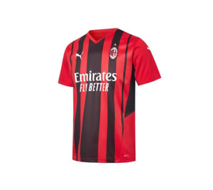 2021/22 Newest AC Milan FC Home Shirt Football Jersey for Men Adult Size