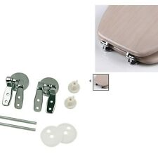 Solid Brass Wooden Toilet Seat Hinge Kit - Oracstar Hinges Plumbing Fittings
