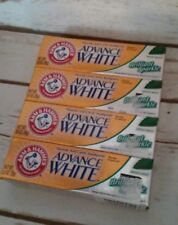 Arm & Hammer Advance White Toothpaste .9 Oz Travel Size New Fresh Mint