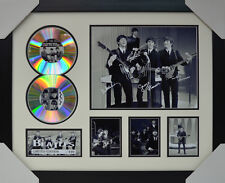 THE BEATLES SIGNED MEMORABILIA FRAMED 2 CD LIMITED EDITION #E