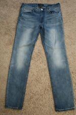 ... Mens Jeans 32 x 34 PACSUN Slim Active Stretch, blue denim male