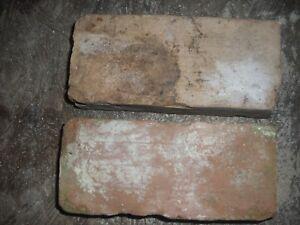 LOT OF 2  HANDMADE SLAVE MADE CHARLESTON SC BRICK 1800S PAVER FREE PRIORITY SHIP