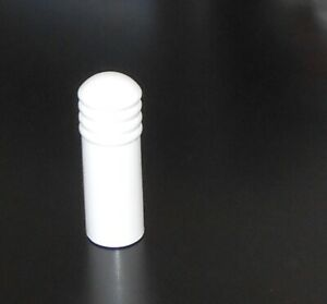 PVC WHITE DOOR STOP CUSHION STOPPER - WALL MOUNT - LARGE 102mm - From $2.75ea
