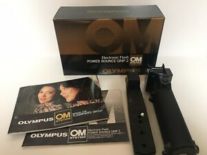Olympus Electronic Power Bounce Grip 2 Boxed Untested