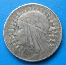 Pologne Poland 5 zlotych argent 1934 Y.21