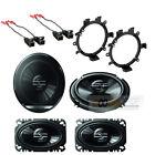 "Pioneer 6.5"" & 4x6"" Truck coaxial Speakers Kit for 2003-2006 SIERRA & SILVERADO"