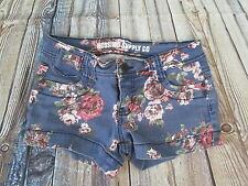Mossimo Floral Hippie Festival Jean Shorts Size 1