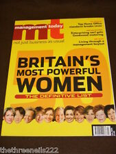 MANAGEMENT TODAY - BRITAIN'S MOST POWERFUL WOMEN - JULY 2004