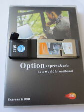 Option GT Ultra Expresscard-7.2Mbps-auch MacOs
