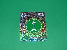 N°193 BADGE ECUSSON SAUDI ARABIA PANINI FOOTBALL FRANCE 98 1998 COUPE MONDE WM