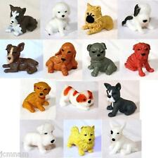 ADOPT A PUPPY SERIES 3 FIGURINES COLLECTIBLE ~ 14 DOGS ~ EXPIRED ~ LICENSED