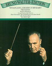 """MOZART ARIAS DE ÓPERA GEORGE LONDON EZIO PINZA BRUNO WALTER 12"""" LP (L7725)"""