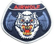USAF UNITED STATES AIR FORCE AIRWOLF - MILITARY PATCH