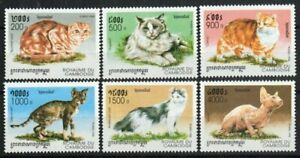 Cambodia Stamp - Domestic cats Stamp - NH