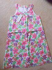 Kleid wunderschön und neu Esprit  Gr.140 / 146 mit BLUMEN