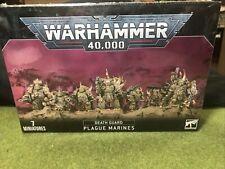 Death Guard Plague Marines Games Workshop Warhammer 40.000 8th 43-55 Nurgle