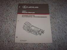 1991 Lexus LS400 SC400 LS SC 400 A340E A341E Transmission Service Repair Manual