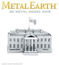 Fascinations Metal Earth The White House Laser Cut 3D Model