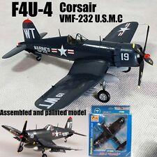 US Grumman F4U Corsair aircraft fighter VMF-232 1/72 no diecast plane Easy model