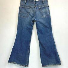 Vintage 1970s Levis Bell Bottoms Jeans Men 684 actual size 35x28 Distressed P14
