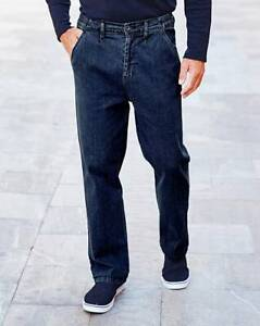 Premier Man Side Elasticated Stone Wash Jeans NA882 Size UK 32 VR119 07