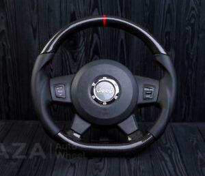 JEEP GRAND CHEROKEE SRT-8 STEERING WHEEL CUSTOM SRT8 Carbon fiber 2005-2010