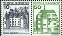 BRD (BR.Deutschland) W70II Letterset postfrisch 1977 Burgen und Schlösser
