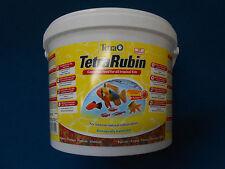 TetraRubin 10 L Farbfutter Flockenfutter Tetra Rubin Flakes Fischfutter Frisch !