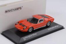 Lamborghini Miura rot 1966 1:43 Minichamps Maxichamps