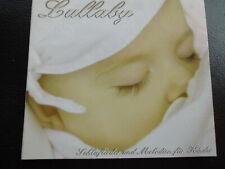 LULLABY  -  Schlaflieder  und Melodien für  KINDER ,  CD   2006 ,  ZYX  MUSIC