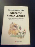 A Paese Without Leader Storie - Fountain - Longanesi 2018
