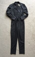 NWT $298 Jcrew COLLECTION Womens 0 Italian Wool Jumpsuit Gray Lightweight Wool