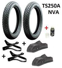 Reifensatz MZ TS250A NVA - Reifen Heidenau K33