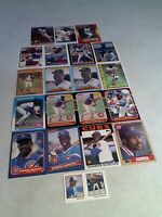 Shawon Dunston:  Lot of 65 cards.....50 DIFFERENT / Baseball