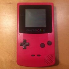 Nintendo Gameboy Colour (Berry Red)  color -  30 Day Warranty!