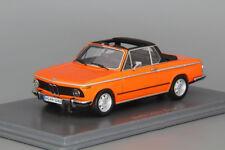 BMW 2002 Baur Cabriolet Neo scale models 1:43 NEO43280