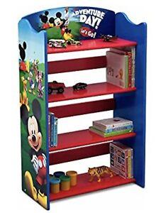 Delta Childrens Mickey Mouse Bookcase Model FL86713MM-1051