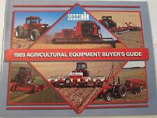 1989 Case International Tractor Equipment Buyer's Guide Catalog LOTS More Listed