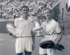 Rod Laver Roy Emerson #3  8x10 Photo Signed W/COA Tennis-Men  033119