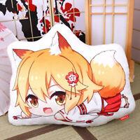 Anime Sewayaki Kitsune no Senko-san Senko Plush Toy Soft Doll Cushion Pillow