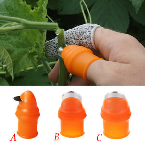 Thumb Cutter Separator Finger Tools Picking Device for Garden Harvesting Plant
