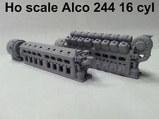Ho scale Alco 244 16 cyl.