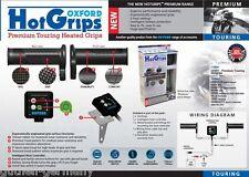 Oxford climatización para Tourer electrónico 5 niveles de sistema Hot-Grips