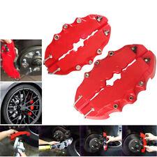 4pcs Brembo Style 3d Red Disc Brake Caliper Covers Front Amp Rear Kits Auto Parts Fits Jaguar